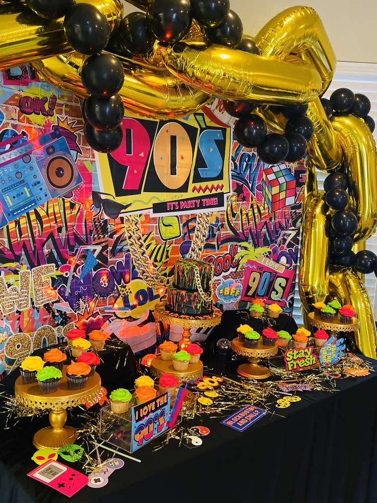 90s Style Party Ideas