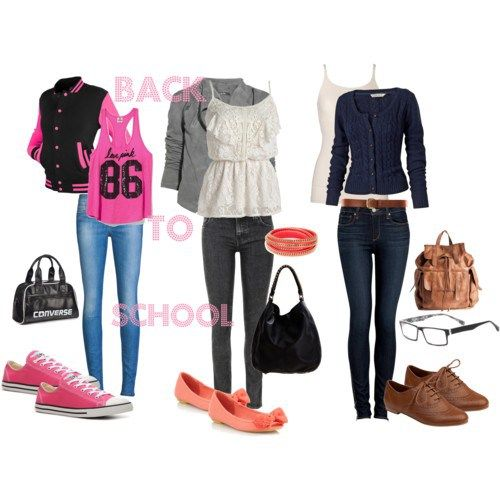 outfit ideas for back to school