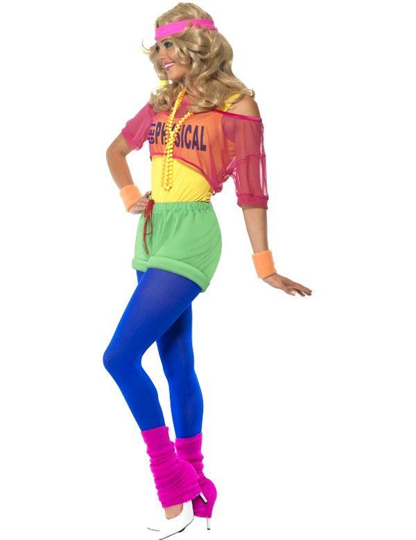 80s dress up ideas for school girl