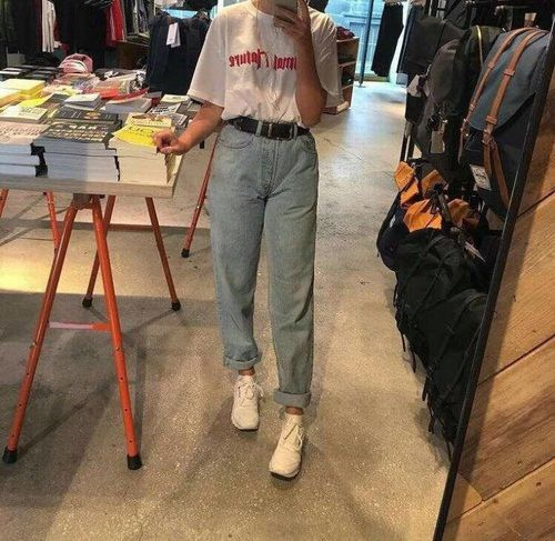 90s Jeans Outfit