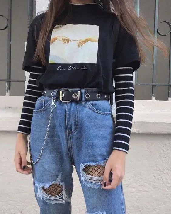 egirl outfit ideas for school