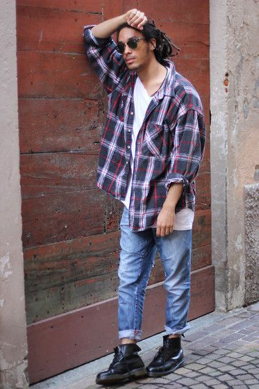 90s Grunge Outfits Mens