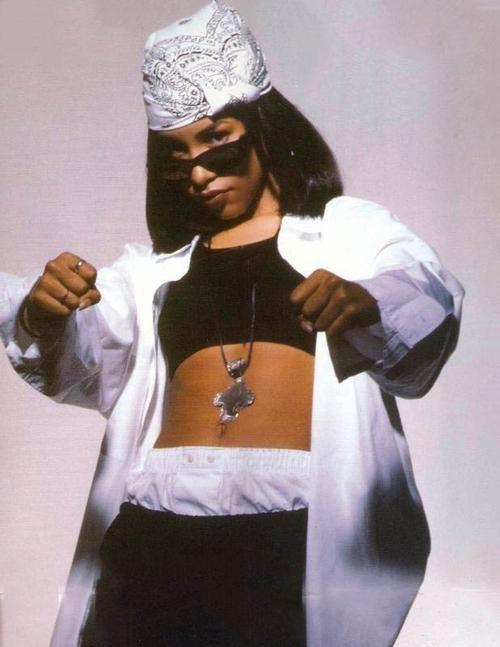 90s Hip Hop Fashion Aaliyah