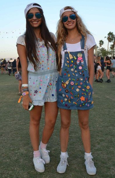 90s Inspired Festival Outfits