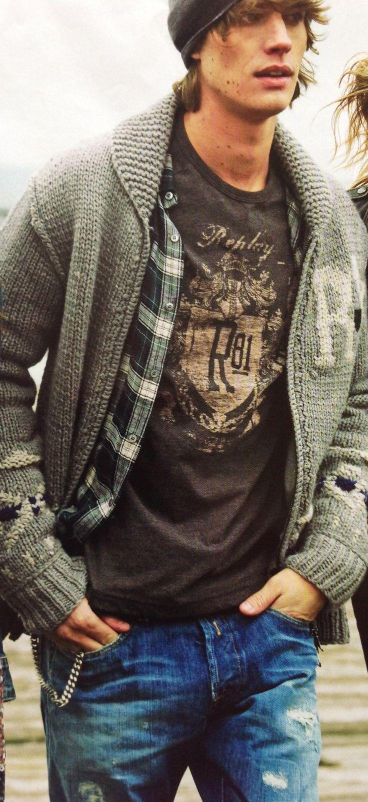 90s Grunge Fashion Male