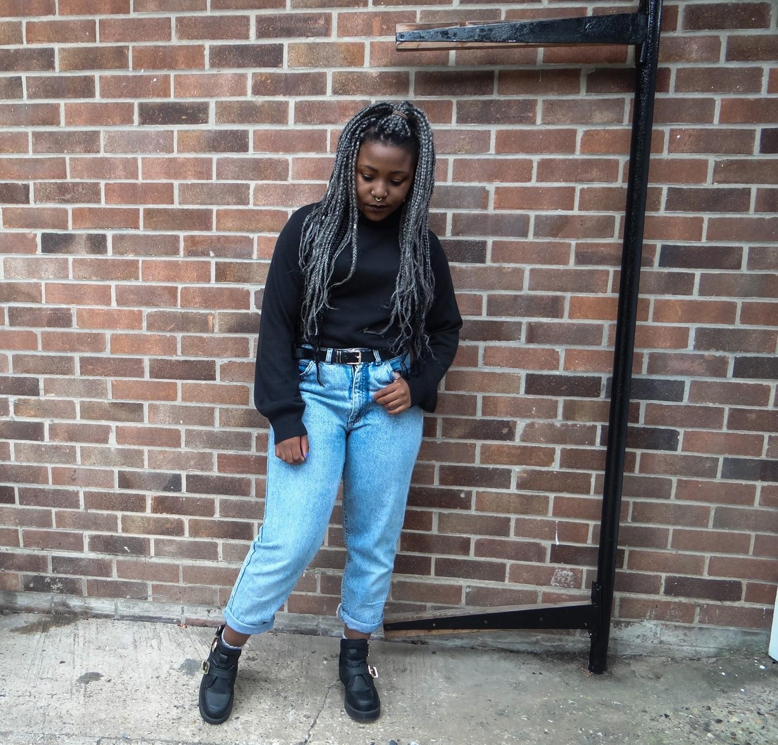 90s Grunge Fashion Jean Jacket