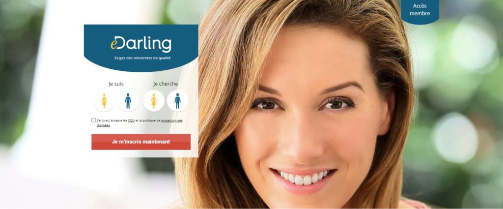 eDarling is one of the best online dating sites