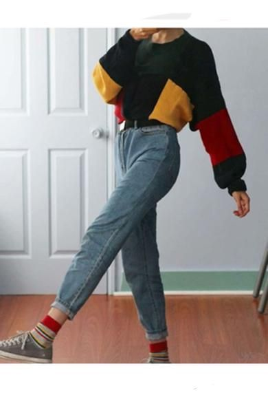 90's Style Retro Outfits Female