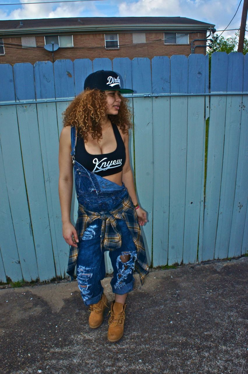 Hip Hop Female 90s Outfit